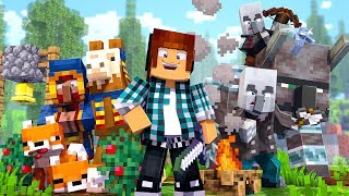 Minecraft : DIVERTIDO MUNDO SURVIVAL 1.14.2