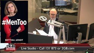 Bettina Arndt defends men on Radio 2GB with Chris Kenny