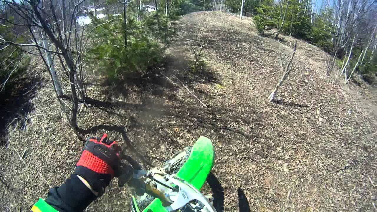 2000 kx 125, kx250, cr250 - First week-end riding! 2 stroke 4 ever!