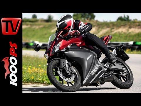 Yamaha YZF R125 2014 Test | 125er Einsteiger-Special