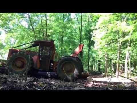 Clark 667 Log Skidder | Doovi