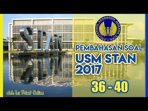 Pembahasan Soal USM STAN 2017 No 36 - 40