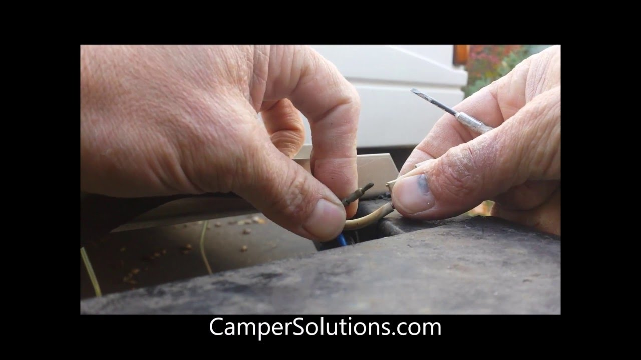 Coleman Popup Camper Battery Plug Connection Types Youtube Wiring Diagram 12v Caravan Fridge