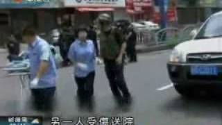 In Urumqi two terrorists were shot to death.  Whole story was recorded by video.