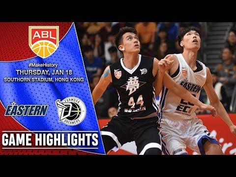 Hong Kong Eastern vs Formosa Dreamers | HIGHLIGHTS | 2017-2018 ASEAN Basketball League
