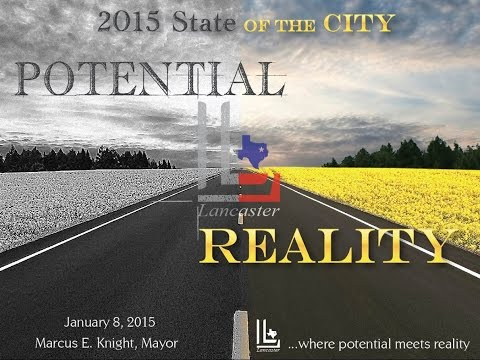 2015 State of the City Address - City of Lancaster, Texas