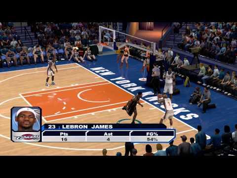 "[X360] NBA 2K6 - Cavs vs Knicks - ""Crazy Plays in the Game"""