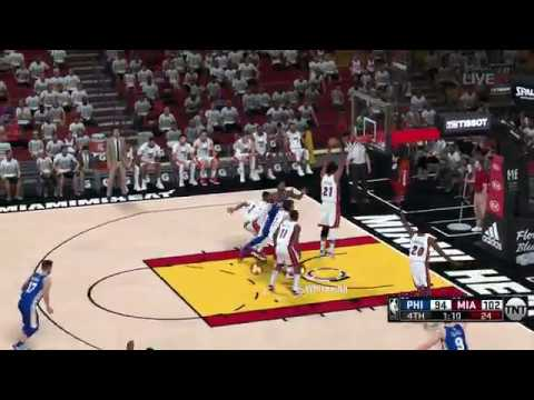 NBA 2K18 PC TNT MOD│SIXERS VS HEAT GAME 3
