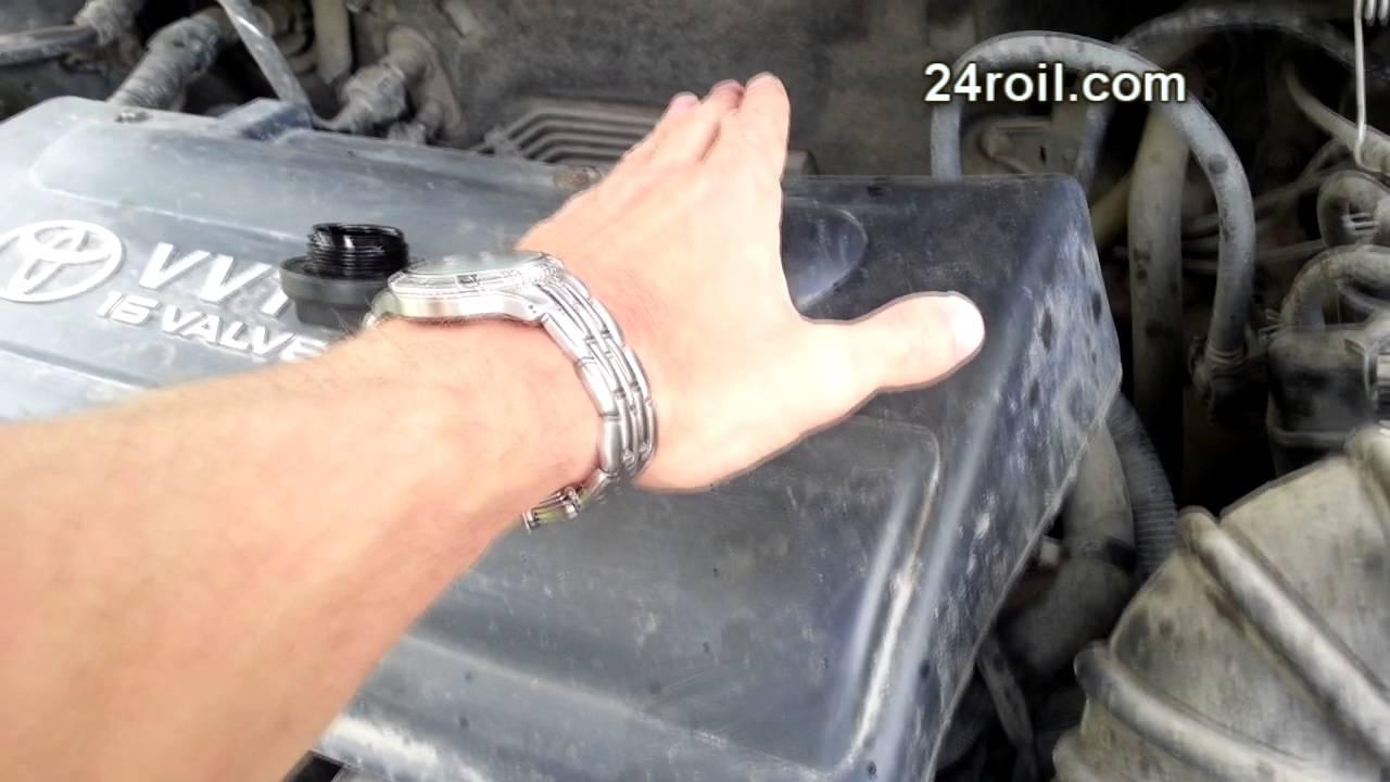 3ZZ-FE жрёт масло: Устраняется обработкой Roil platinum