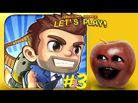 Midget Apple Plays - Jetpack Joyride #3