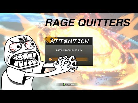 DRAGONBALL FIGHTZ RAGE QUITTERS EP 1