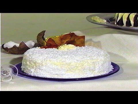 Curso Como Fazer Tortas de Vitrine - Torta de Coco