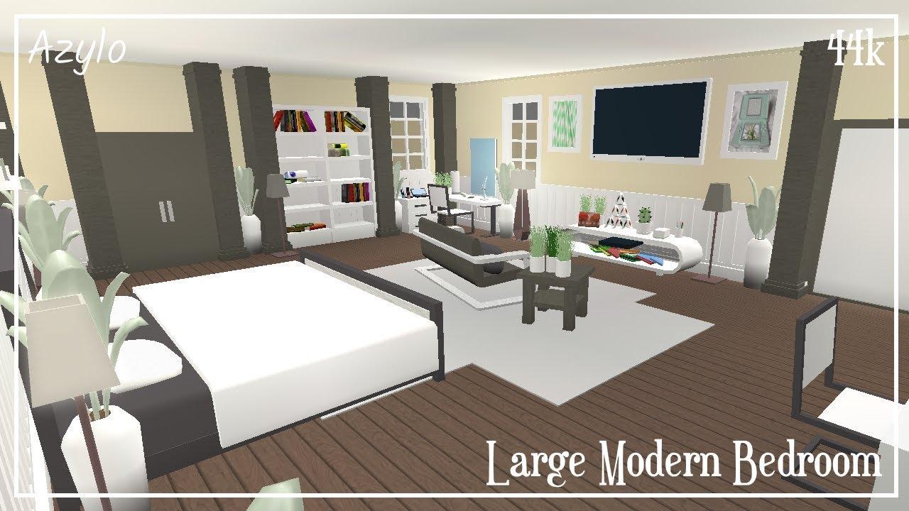 Roblox | Bloxburg: Large Modern Bedroom (44k) - YouTube