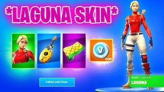 *NEW* LAGUNEN STARTER PACK available in Fortnite! | Free V-Bucks included!