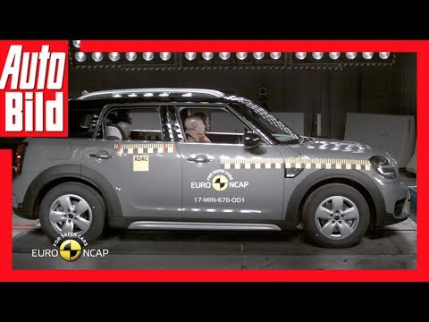 Crashtest Mini Countryman (2017) - Top Sicherheit im Mini