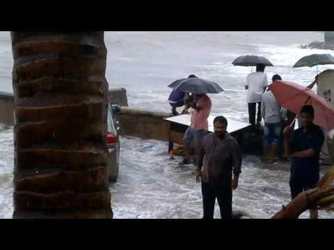 Mumbai Arabian sea high tides