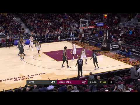 Brooklyn Nets vs Cleveland Cavaliers   October 24, 2018