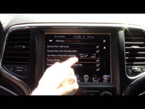 Chrysler's Uconnect System 2015 Detailed Tutorial: Tech Help