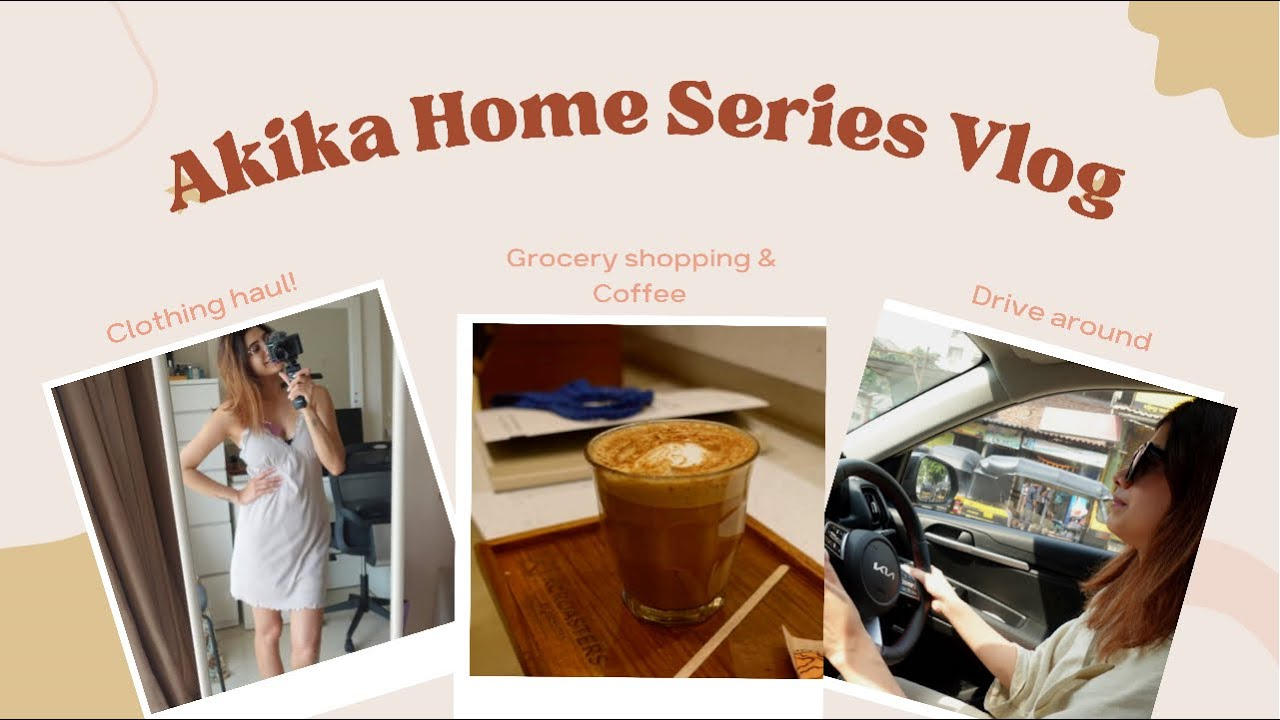 Download COME Grocery shopping with me, Clothing Haul || VLOG || Akika Home Series
