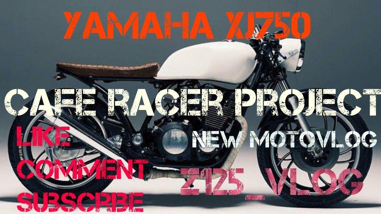 Yamaha xj750 cafe racer bobber project