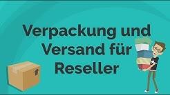 Verpackung und Versand für Reseller