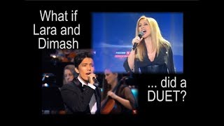 Full-Length What if Lara and Dimash duet 'Love of Weary/Tired Swans'
