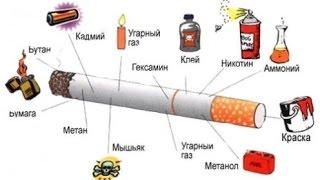 Как и из чего делают сигареты!