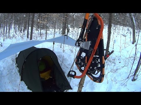 Solo Winter Camping, Algonquin Park 2016, Christmas Holidays!