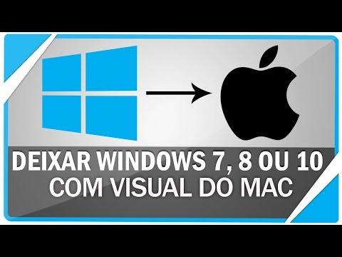 Como Transformar O Windows 7, 8, 8.1 E 10 Em Mac