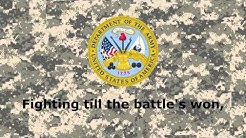 And The Army Goes Rolling Along - United States Army