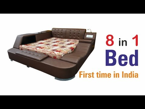Modern Bed with music system & other utilities by CHANDRA FURNITURE