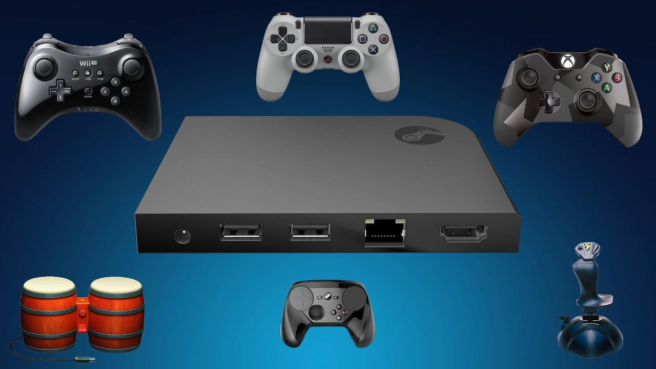 Steam Link Do Your PlayStation Xbox Or Wii U Controllers Work On It YouTube