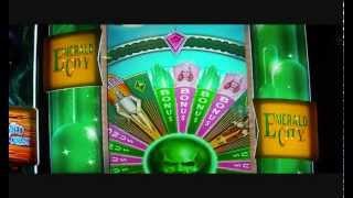 Wizard of Oz Gamefield Over 100X Slot Machine Bonus Round