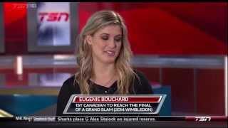 Genie Bouchard Sportscentre Interview November 12, 2014