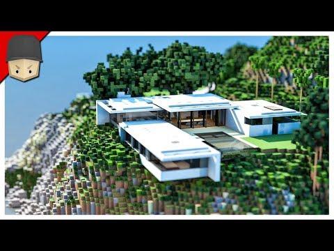 Minecraft - Modern Mountain House