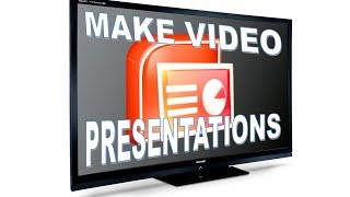 How to make a video presentation PowerPoint - voiceover