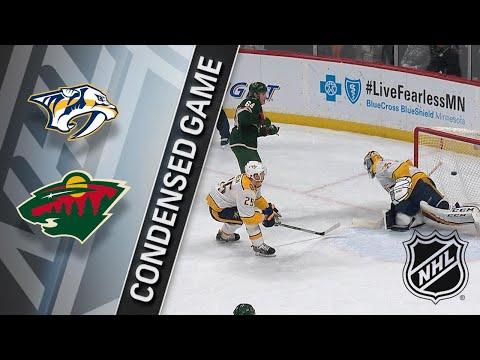 12/29/17 Condensed Game: Predators @ Wild