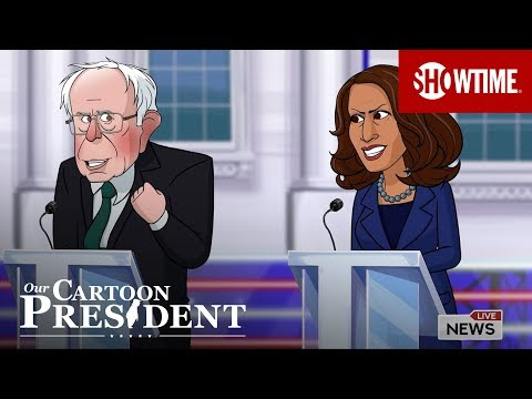 'First 2020 Democratic Presidential Primary Debates' Episode 208 Cold Open | Our Cartoon President