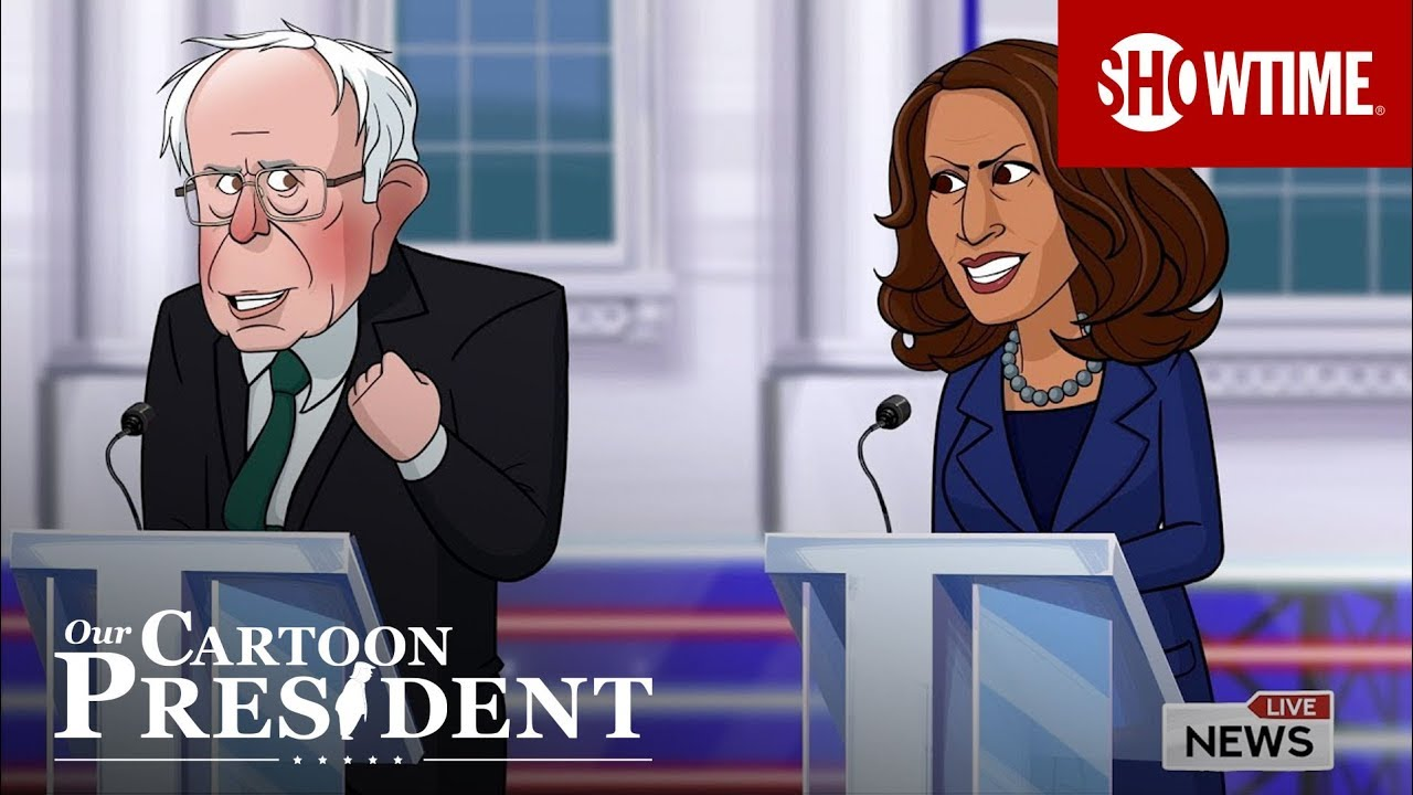'First 2020 Democratic Presidential Primary Debates' Episode 208 Cold Open | Our Cartoon P