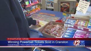 Winning Powerball Tickets Sold In Cranston