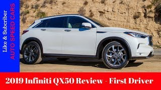 2019 Infiniti QX50 Review - First Drive