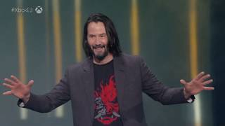 Keanu Reeves coming to Cyberpunk 2077 (Xbox E3 2019 Briefing)