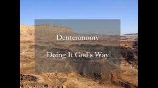 Deuteronomy   week 2