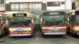 東海バス 富士5e いすゞ k cjm 走行音