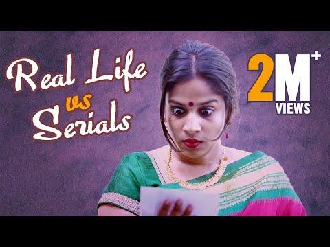Real life vs Serials    Mahathalli    Tamada Media
