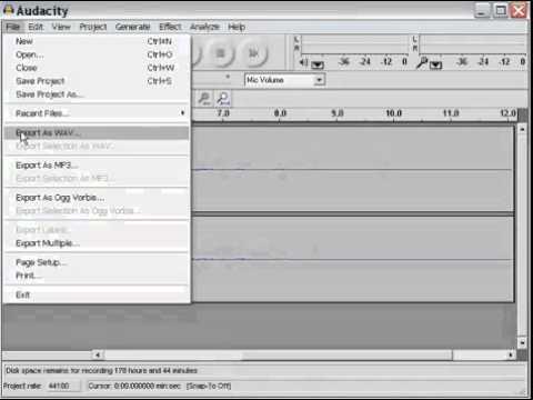 Tape to MP3 Converter Windows XP - Recording