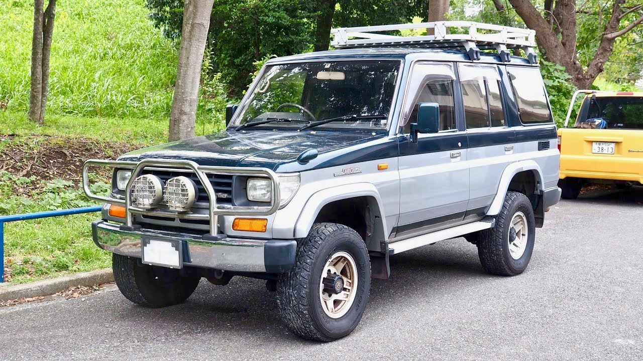 1992 Toyota Land Cruiser Prado Diesel 4wd Usa Import Japan Auction Purchase Review Youtube