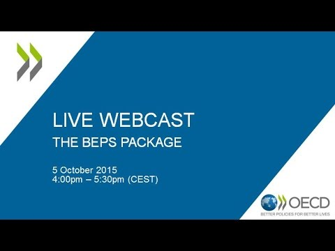 BEPS webcast #8: Launch of 2015 BEPS reports