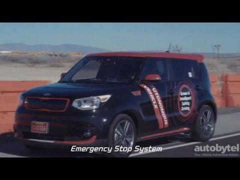 Autonomous Kia Soul EV Test Drive Video Review
