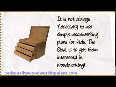 Easy Diy Wood Projects For Kids Woodworking For Kids Plans Youtube